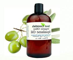 100% Pure Organic Squalane Oil - 16oz With Pump - Imported F