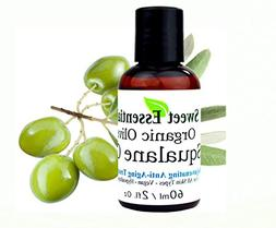 100% Pure Organic Squalane Oil - 2oz - Imported From Italy -