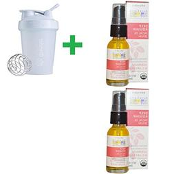 Aura Cacia, Organic Deep Rosehip Essentials Facial Oil Serum