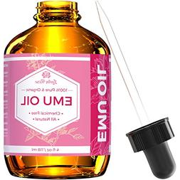 Emu Oil by Leven Rose, 100% Pure Natural Hair Strengthener S