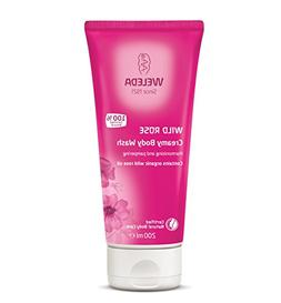 Weleda Wild Rose Creamy Body Wash, 7.2 Ounce