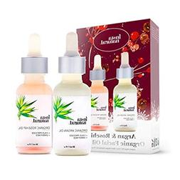 argan and rosehip oil holiday bundle