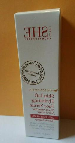 Om She Aromatherapy Skin Lift Hydrating Face Serum with Rose