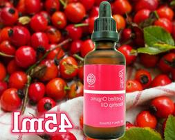 certified organic rosehip oil large 45ml 1
