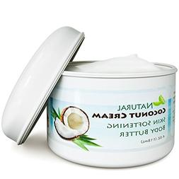 Coconut Oil Body Butter for Stretchmarks & Scars - Natural S