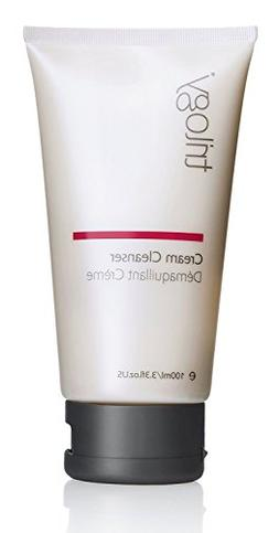 Trilogy Cream Cleanser for Unisex, 3.3 Ounce
