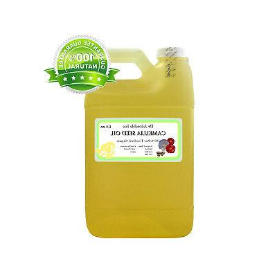 64 oz 100% UNREFINED CAMELLIA SEED OIL by DR.ADORABLE ORGANI