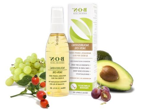 and All Natural Blend Grape and Avocado Oil Added Vitamin E, Bottle Mineral Oil - 100 mL