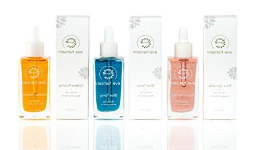 Blue Tansy by Calming Anti Blend for All with Vitamin E, Rosehip Oil, Turmeric Nourishing Oil for Scar - Oz