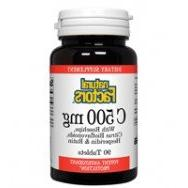 Natural Factors - Vitamin C 500mg, With Bioflavinoids & Rose
