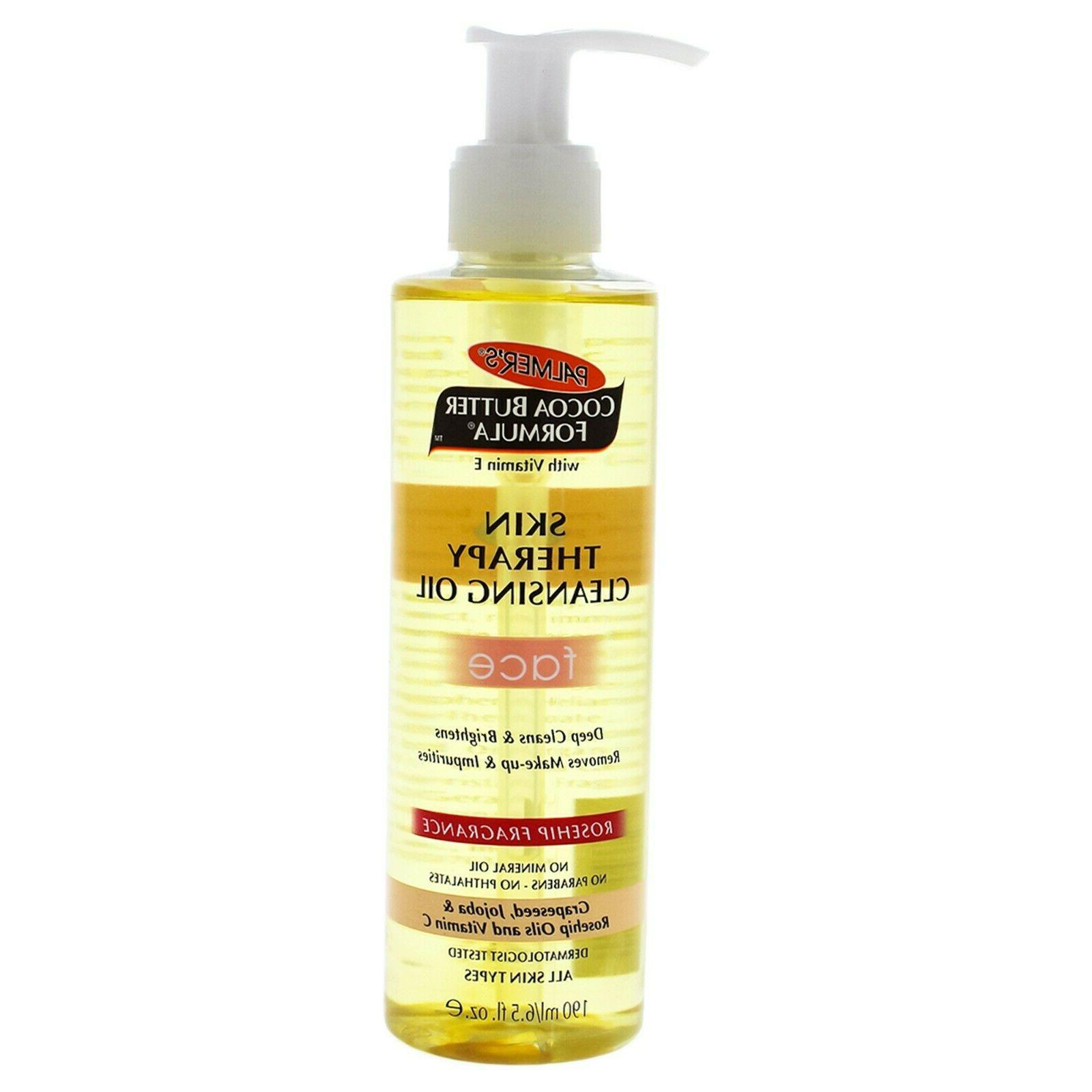 Palmers Cocoa Butter Skin Therapy Cleansing Oil 5oz Pump