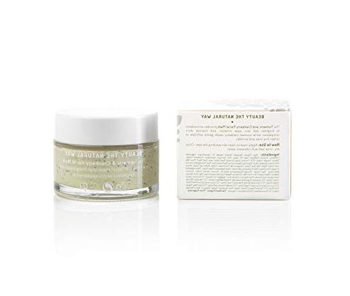 Anti Aging & Clay Mask Hansen Turmeric Extract, Cranberry Seeds, Bentonite Clay, Rosehip C and Exfoliate - 1.7