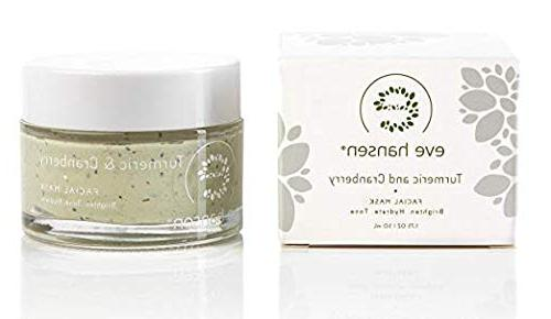 Anti Aging Clay Mask Hansen - Extract, Cranberry Clay, Rosehip Vitamins A, E C and - 1.7 oz