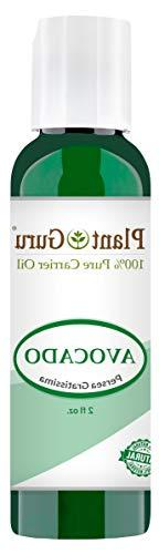 Avocado Oil 2 oz Cold Pressed Carrier 100% Pure Natural Skin
