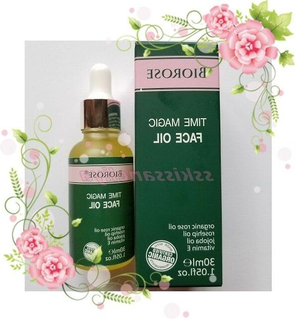 biorose time magic face oil with rose