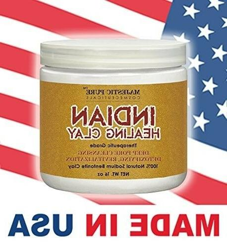 Majestic Clay Powder, Deep Cleansing Facial, Body