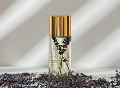 Luxury Lavender Elixir 5oz - Flower Bath, Massage, Oil for Skin and All Skin Coconut, Seed, Apricot
