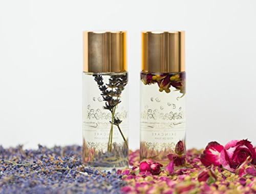 Luxury Oil 5oz - 100% Natural Flower Body, Bath, Moisturizer, and All Coconut, Rosehip Apricot