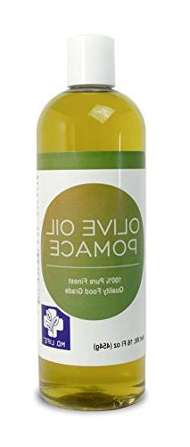 MD LIFE Olive Oil Pomace| 100% Organic Cold Pressed Olive Oi