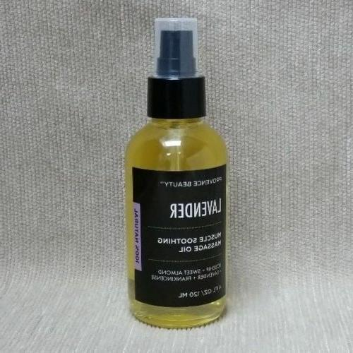 Provence Muscle Massage Oil Lavender Sweet Almond oz