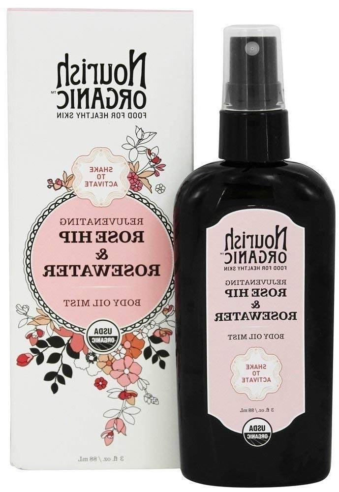 nourish organic rejuvenating rose hip and rosewater