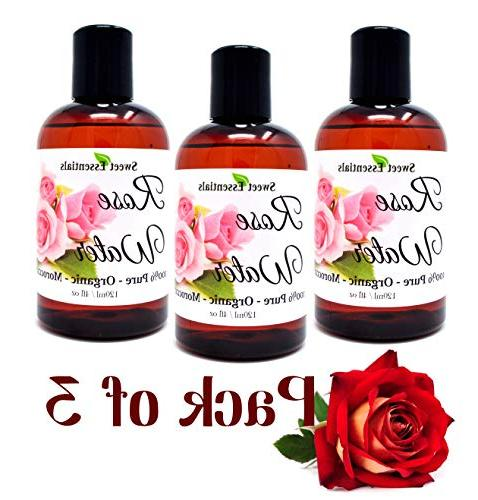 organic moroccan rose water