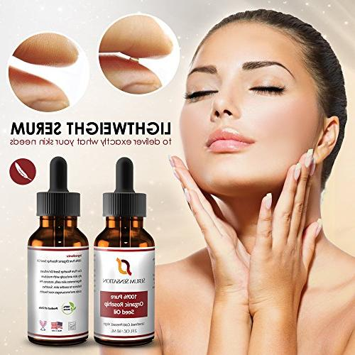 Serum Organic Oil, Reduce Face, and Skin