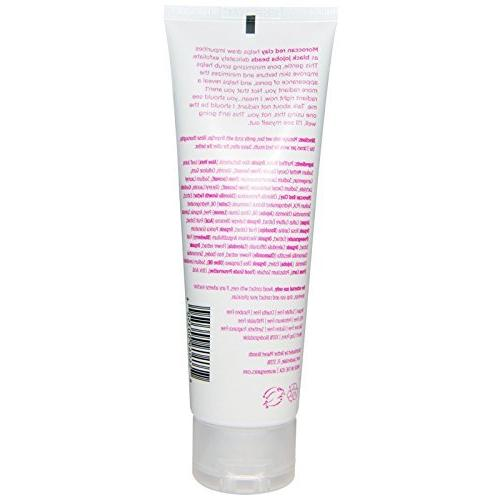 Acure Scrub Exfoliator with Moroccan Red Cells, Black Aloe Vera, Rosehips Acai, Oz.