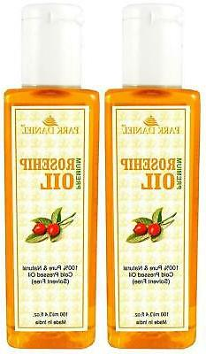 premium rosehip oil combo of 2 bottles