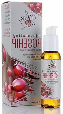 Bloom Rejuvenating Anti-Wrinkle Rosehip Oil for Face & Wrink