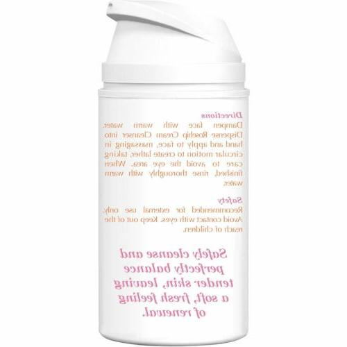 Rosehip Facial by Majestic Cream Cleanser- 50ml