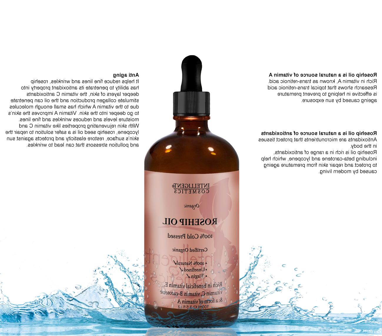 Rosehip Cold Pressed Oil Known Oil
