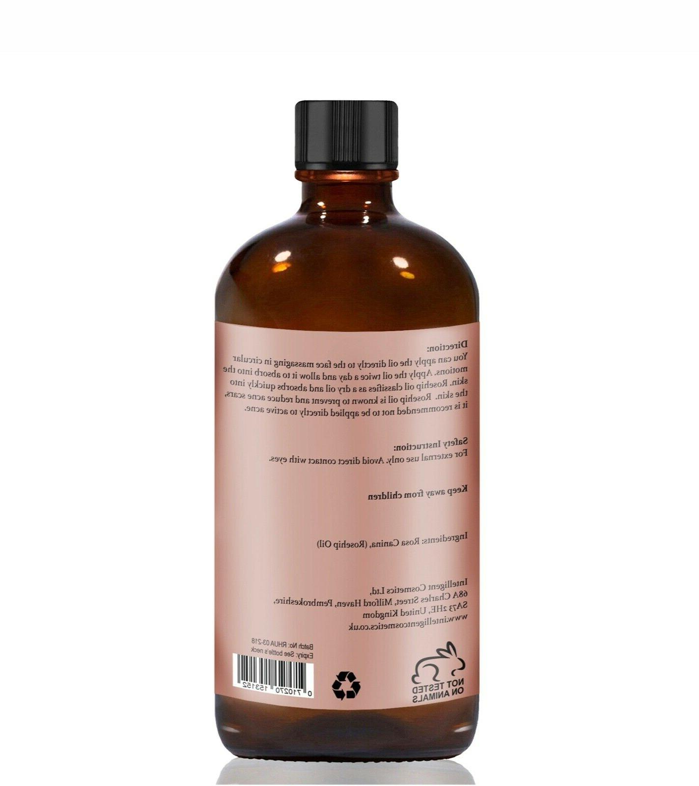 Rosehip Oil Pressed Pure Certified Oil Known