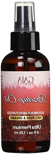Rosehip Oil, Large - Moisturizer for & to Heal Scars, Discoloration, Stretch Marks, Tags Brittle Nails. C