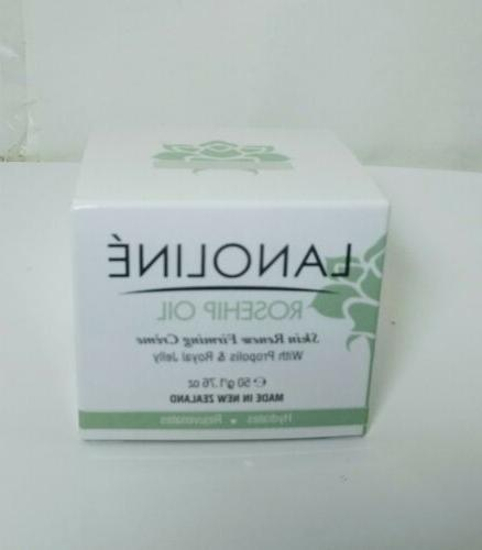 rosehip oil night recovery creme for face