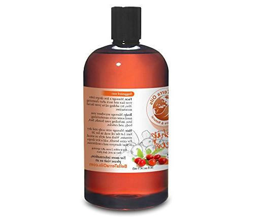 NEW 16oz. Cold-pressed. Unrefined. Organic. 100% Anti-aging. Improves Appearance Wrinkles, For Stretch