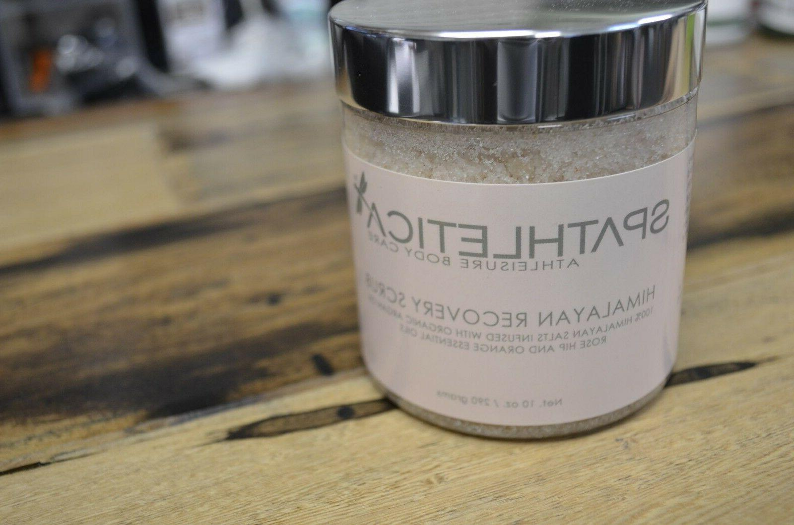 Spathletica Himalayan Scrub with rose Hip, Argan,Orange Oil