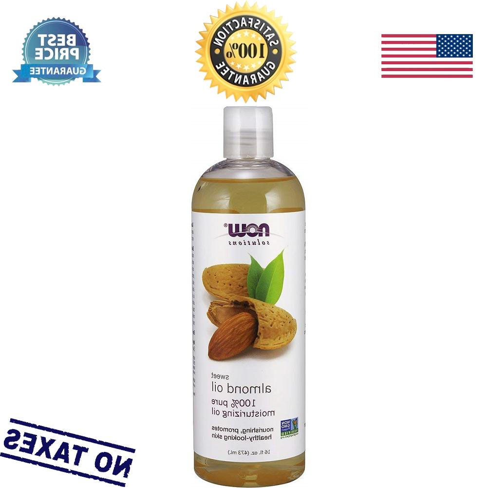 sweet almond oil 100 percent pure by