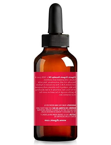 USDA Organic for Face, Pure   Cold Pressed Unrefined, Carrier for Hair & Nails     90 Warranty