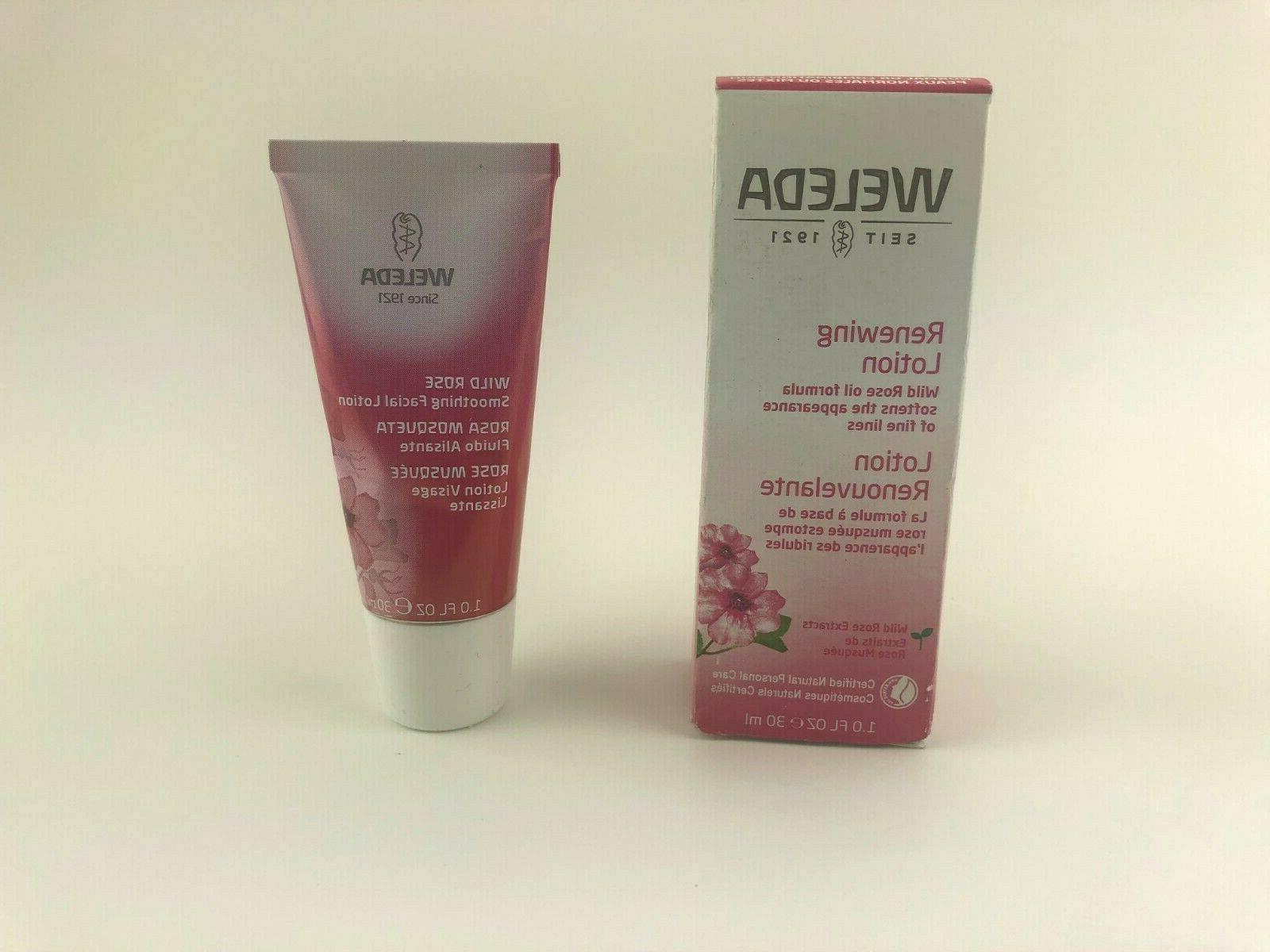 wild rose renewing lotion 1 fluid ounce