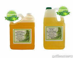 ORGANIC 100% PURE NATURAL CARRIER OILS BY DR.ADORABLE 128 OZ