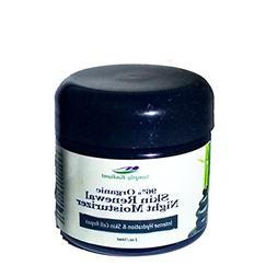 Organic Night Cream Face Moisturizer with Rose Hip Oil, Whit