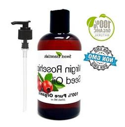 Organic Rosehip Seed Oil | 8oz | Imported From Chile | 100%