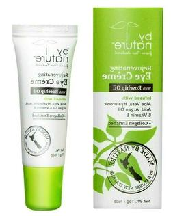 By Nature Rejuvenating Eye Creme with Rosehip Oil & Collagen
