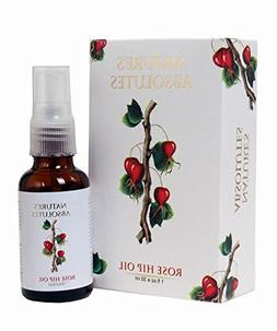 Nature's Absolutes Rosehip Oil - 100% Pure, Natural, Organic