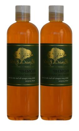 Liquid Gold Rosehip Seed Oil Unrefined Pure & Organic for Sk