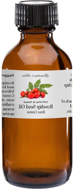 Rosehip Seed  Oil - 2 oz - 100% Pure and Natural - Free Ship
