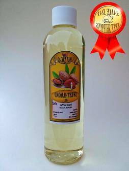 SWEET ALMOND OIL REFINED ORGANIC CARRIER COLD PRESSED 100%