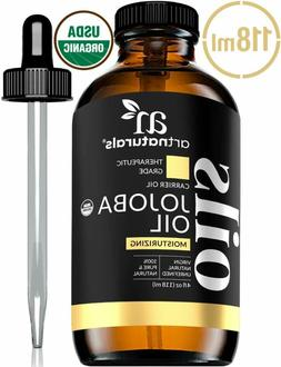 ArtNaturals USDA Organic Jojoba Oil -  - 100% Pure Golden Co