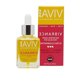 Viva Vibrance Age-Defying Organic FACE Oil for Day, Luxury S